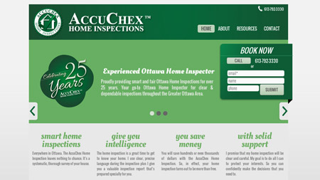 Accuchex website Image