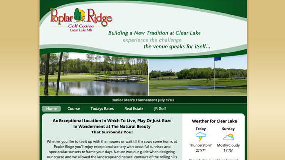 Poplar Ridge golf course Preview Image